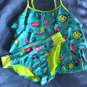 Adorable girls tankini from Justice
